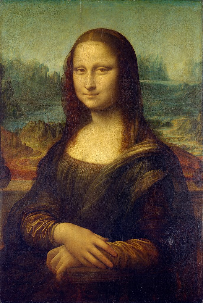 Portrait of Lisa Gherardini, known as Mona Lisa