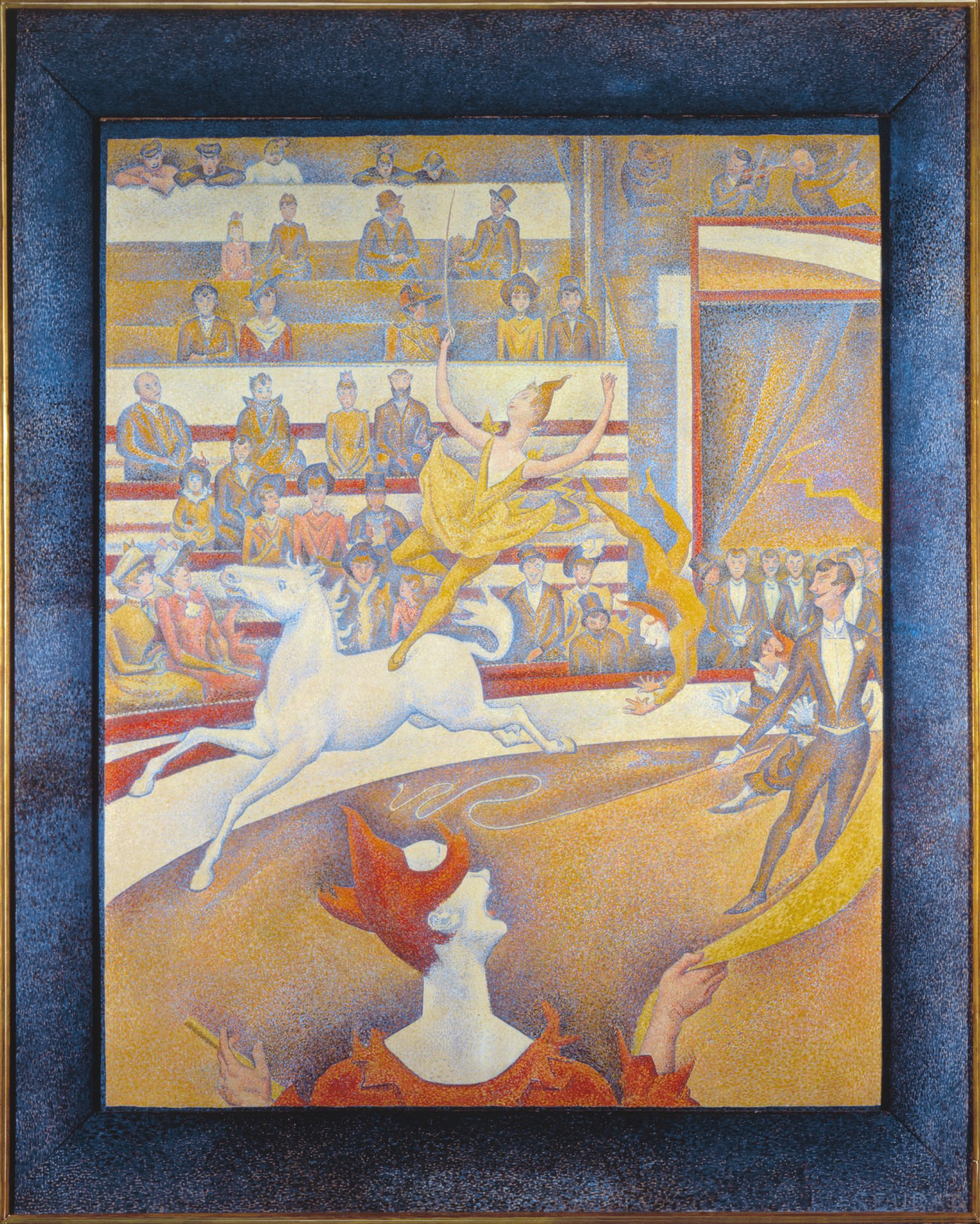 The Circus Georges Seurat 1890, Oil on canvas